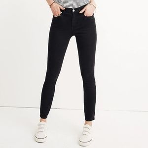 """Madewell Tall 9"""" Mid-Rise Skinny Jeans LUNAR WASH"""